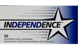 Federal 5262 Independence 380 ACP 90  GR Full Metal Jacket - 50rd Box