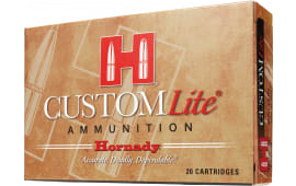 Hornady 80572 Custom Lite 7mm-08 Remington 120 GR SST - 20rd Box