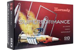 Hornady 81556 Superformance 7x57 Mauser 139 GR Gilding Metal Expanding - 20rd Box