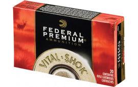Federal P338A2 Vital-Shok 338 Winchester Magnum 210 GR Nosler Partition - 20rd Box