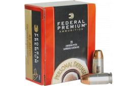 Federal P45HS1 Premium 45 ACP Hydra-Shok Jacketed Hollow Point 230 GR - 20rd Box