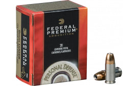 Federal P40HS1 Premium 40 Smith & Wesson Hydra-Shok Jacketed Hollow Point 180 GR - 20rd Box