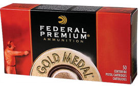 Federal GM45B Premium 45 ACP Full Metal Jacket Semi Wadcutter 185 GR 50Bx/20Case - 50rd Box