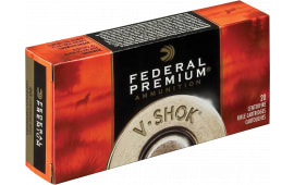 Federal P22250F V-Shok 22-250 Remington 55 GR Nosler Ballistic Tip - 20rd Box