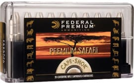 Federal P458LTI Cape-Shok 458 Lott Trophy Bonded Bear Claw 500 GR - 20rd Box