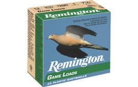 "Remington GL1275 Promo Game Loads 12GA 2.75"" 1oz #7.5 Shot - 250sh Case"