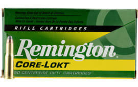 Remington Ammunition R25202 25-20 Winchester 86 GR Core-Lokt Soft Point - 50rd Box