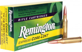 Remington Ammunition R7M081 Core-Lokt 7mm-08 Remington 140 GR Core-Lokt Pointed Soft Point - 20rd Box