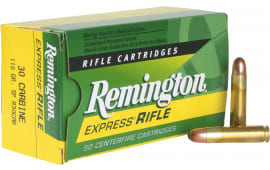 Remington Ammo R30CAR Standard 30 Carbine 110 GR Core-Lokt Soft Point - 50rd Box