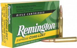 Remington Ammo R30062 Core-Lokt 30-06 Spg Core-Lokt Pointed Soft Point 150 GR - 20rd Box