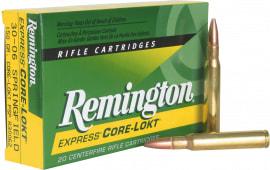 Remington Ammunition R30065 Core-Lokt 30-06 180 GR Core-Lokt Pointed Soft Point - 20rd Box