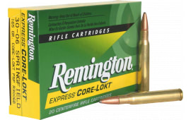Remington Ammunition R3006B Core-Lokt 30-06 165 GR Core-Lokt Pointed Soft Point - 20rd Box