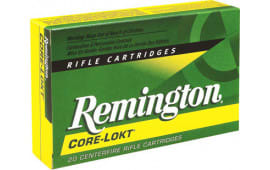Remington Ammo R303B1 Core-Lokt 303 British Soft Point 180 GR - 20rd Box