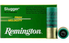 "Remington Ammunition SPHV12RS Slugger High Velocity 12GA 2.75"" 7/8oz Slug Shot - 5sh Box"