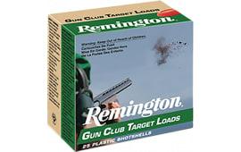 "Remington GC1218 Gun Club Target Loads 12 GA 2.75"" 1oz #8 Shot - 250sh Case"