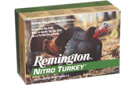 "Remington Ammunition NT12H4 Nitro Turkey 12GA 3"" 1-7/8oz #4 Shot - 10sh Box"