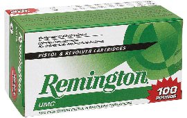 Remington Ammunition L9MM1B UMC 9mm Jacketed Hollow Point 115 GR - 100rd Box