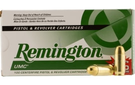 Remington Ammunition L45AP4B UMC 45 ACP Metal Case 230 GR - 100rd Box