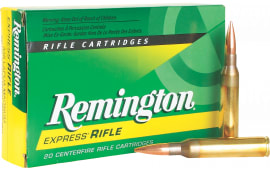 Remington Ammunition RM338LMR1 High Performance 338 Lapua Magnum 250 GR Core-Lokt Scenar Fine Hollow Point - 20rd Box