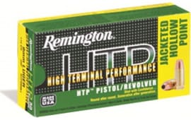 Remington Ammo RTP357M7 HTP 357 Mag 110 GR Semi Jacketed Hollow Point - 50rd Box