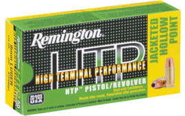 Remington Ammo RTP38S21 HTP 38Sp 125 GR Semi Jacketed Hollow Point - 50rd Box