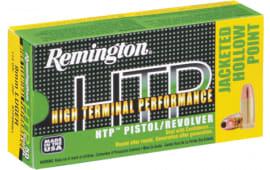 Remington Ammo RTP45AP7 HTP 45 ACP 230 GR Jacketed Hollow Point - 50rd Box