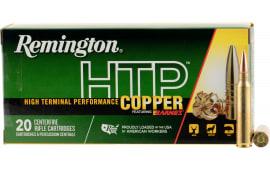 Remington Ammunition HTP223R HTP Copper .223/5.56 NATO 62 GR TSX - 20rd Box