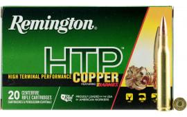 Remington Ammunition HTP270W HTP Copper 270 Winchester 130 GR TSX - 20rd Box