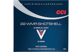 CCI 0025 Low Noise/Training/Specialty 22 WinMag #12 Shot 52 GR - 20rd Box