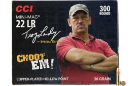 CCI 962 Mini-Mag Swamp People 22 Long Rifle (LR) 36 GR Copper-Plated Hollow Point - 300rd Box