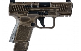 Century Arms HG6495-N Canik TP9 9mm Semi-Auto Pistol - Elite SC Trophy Model 9MM - Distressed Bronze Trophy Finish
