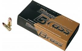 CCI 52021 Blazer Brass 380 ACP 95 GR Full Metal Jacket Round Nose - 250rd Box