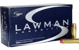 Speer 53750 Lawman 38 Special Total Metal Jacket 158 GR - 50rd Box