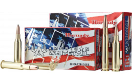 Hornady 8047 American Whitetail 243 Winchester 100 GR InterLock - 20rd Box
