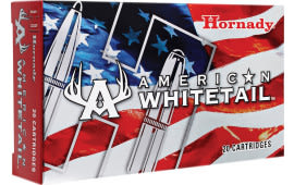 Hornady 8144 American Whitetail 25-06 Remington 117 GR InterLock - 20rd Box
