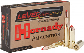 Hornady 8277 LEVERevolution 25-35 Win 110 GR FTX - 20rd Box