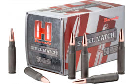 Hornady 80274 Match .223/5.56 NATO Hollow Point 55 GR - 50rd Box