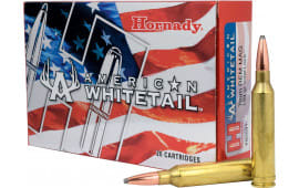 Hornady 80591 American Whitetail 7MM Remington Magnum 139 GR SP - 20rd Box