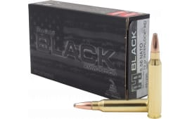 Hornady 81296 Black .223/5.56 NATO 75 GR InterLock HD - 20rd Box