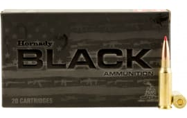 Hornady 81528 Black 6.5mm Grendel 123 GR ELD-Match - 20rd Box