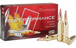 Hornady 82206 Superformance 300 WSM 165  GR GMX - 20rd Box