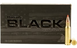 Hornady 83464 Black 6.8mm Remington SPC 110  GR V-Max - 20rd Box