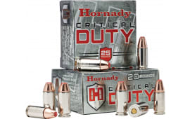 Hornady 90236 Critical Duty 9mm Luger 135  GR FlexLock - 25rd Box