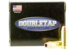 DoubleTap Ammunition 10MM135CE DT 10mm Automatic 135  GR Jacketed Hollow Point - 20rd Box