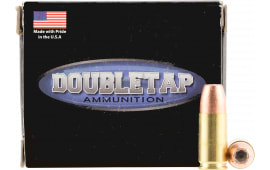 DoubleTap Ammunition 9MM124BD DT 9mm Luger 124  GR Jacketed Hollow Point - 20rd Box