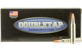 DoubleTap Ammunition 223R77HP DT Longrange .223/5.56 NATO 77  GR Hollow Point Boat Tail - 20rd Box