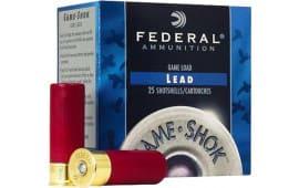 """Federal H4134 Game-Shok High Brass Lead 410 GA 3"""" 11/16oz #4 Shot - 250sh Case"""
