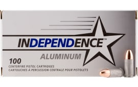 CCI IAL9115100 Independence 9mm Luger 115  GR Full Metal Jacket - 100rd Box