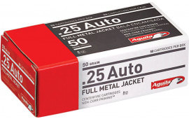 Aguila 1E252110 25 ACP 50  GR Full Metal Jacket - 50rd Box