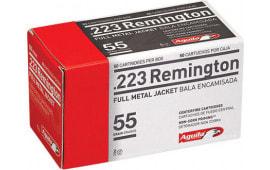 Aguila 1E223110 223 Remington 55  GR Full Metal Jacket - 50rd Box